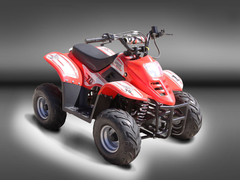 Puzey Whiz Kid 70 Quad Bike